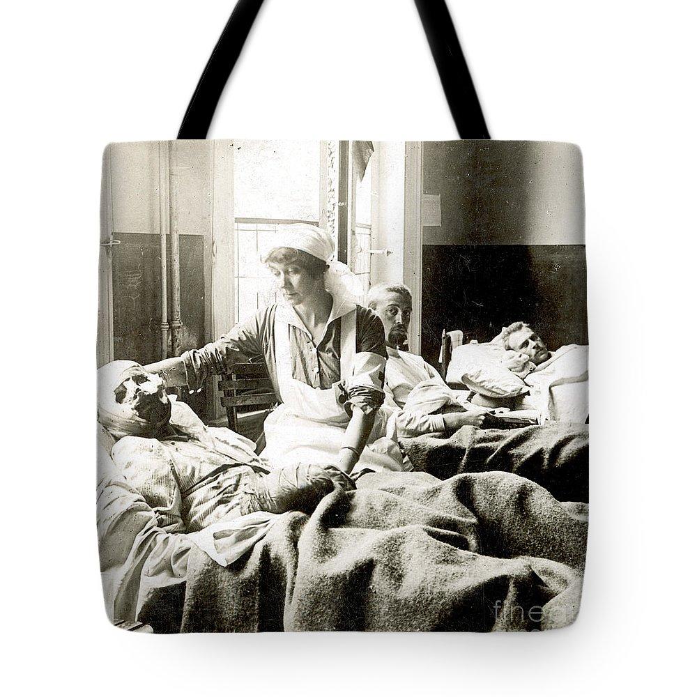 World War I Nurse Tote Bag For Sale By Granger