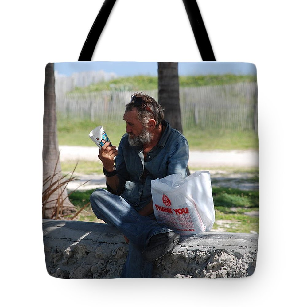 Man Tote Bag featuring the photograph Worldly Posessions by Rob Hans