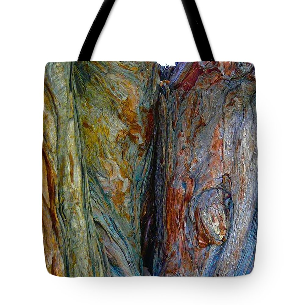 Tree Tote Bag featuring the photograph Would You Knock First by Jacqueline Howe