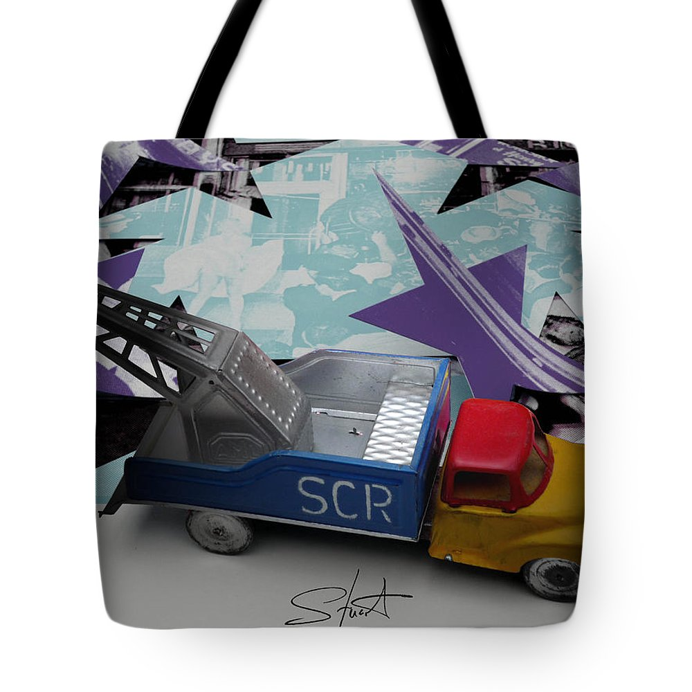 Marilyn Tote Bag featuring the photograph Wrecking Crew by Charles Stuart