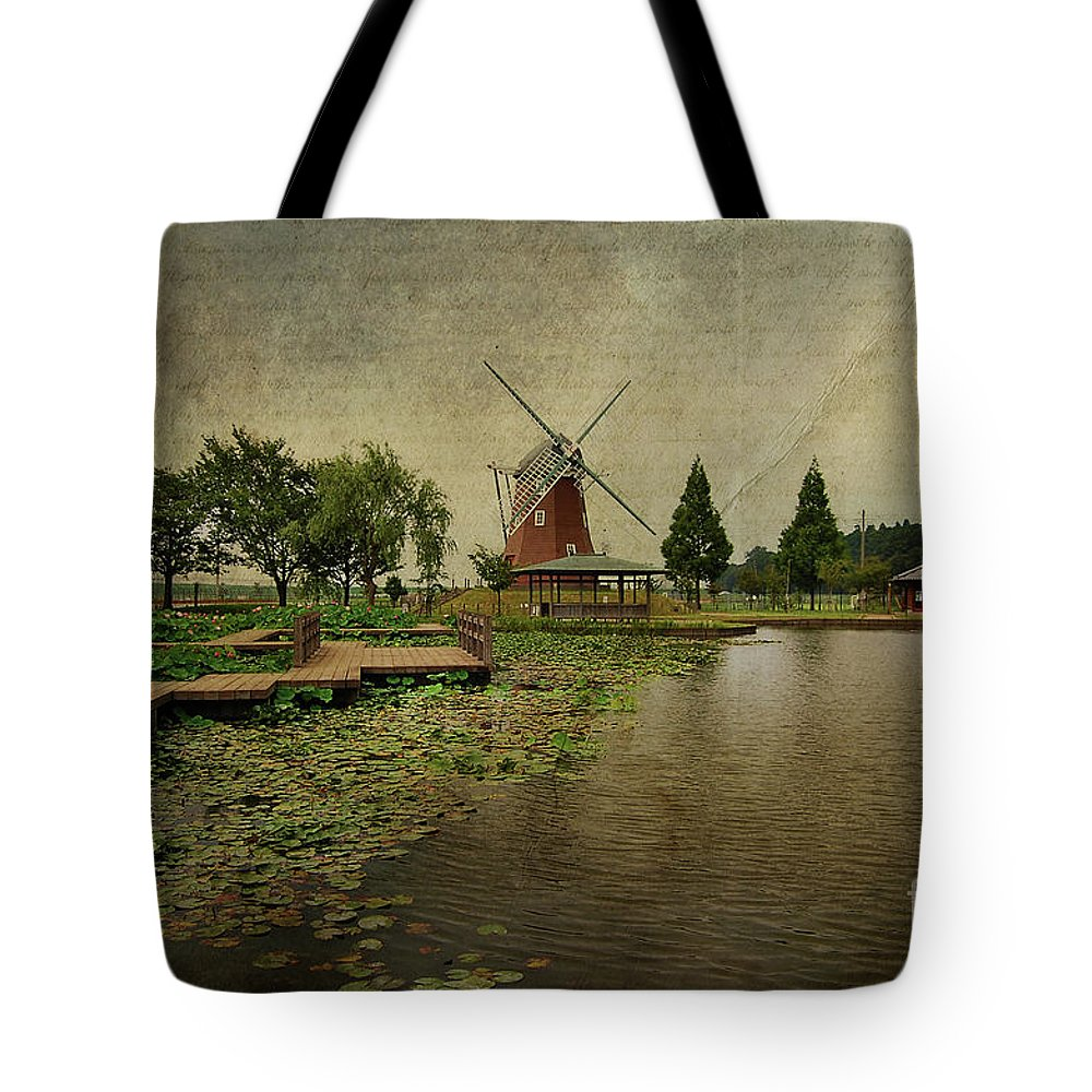Windmill Tote Bag featuring the photograph Write Me A Story by Eena Bo