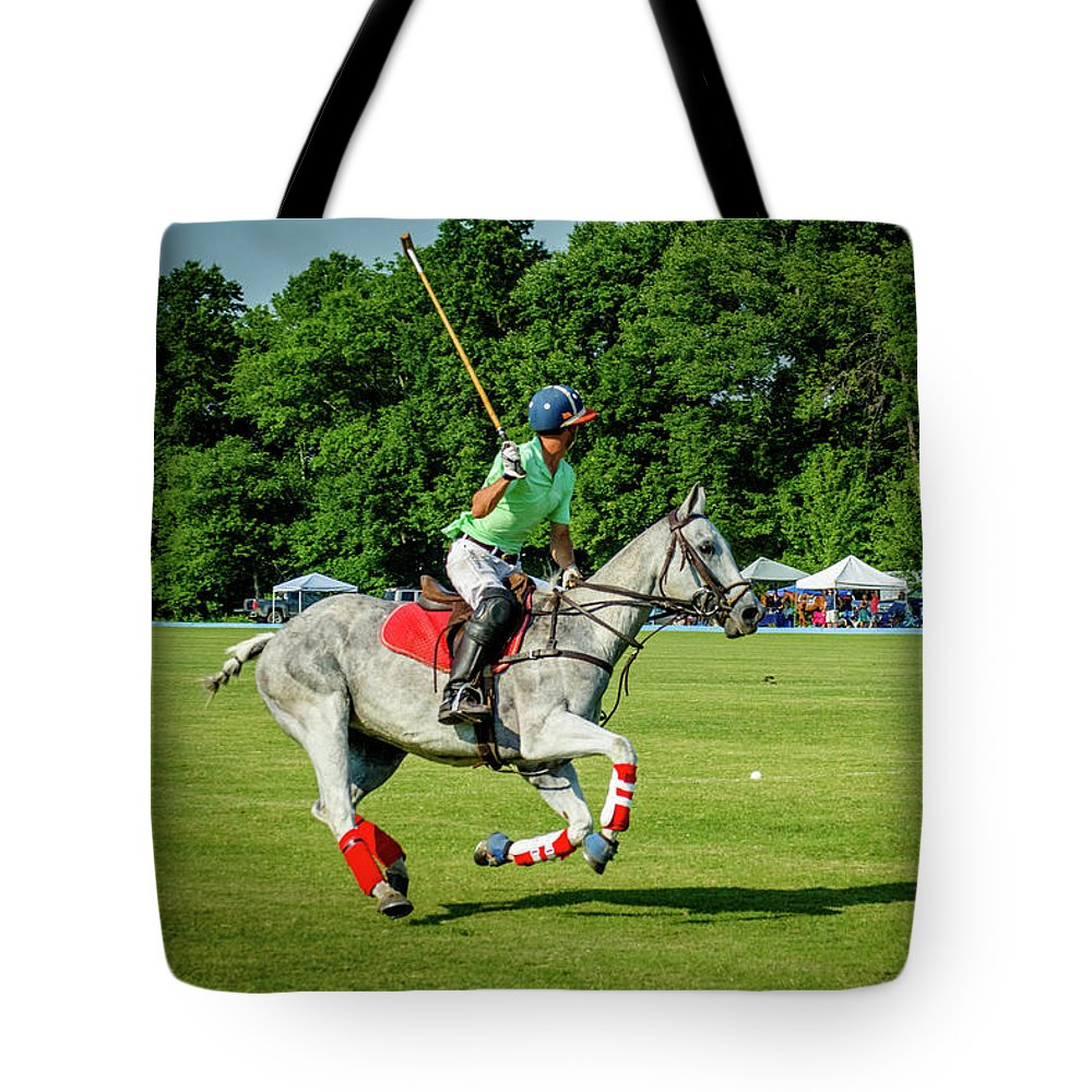 Banbury Cross Tote Bag featuring the photograph Wyatt Harlow 1 by Sarah M Taylor