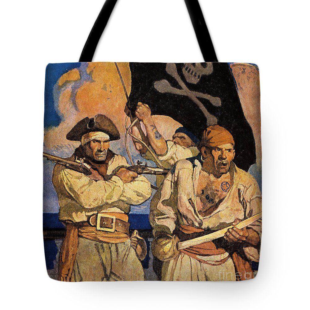 18th Century Tote Bag featuring the photograph Wyeth: Treasure Island by Granger