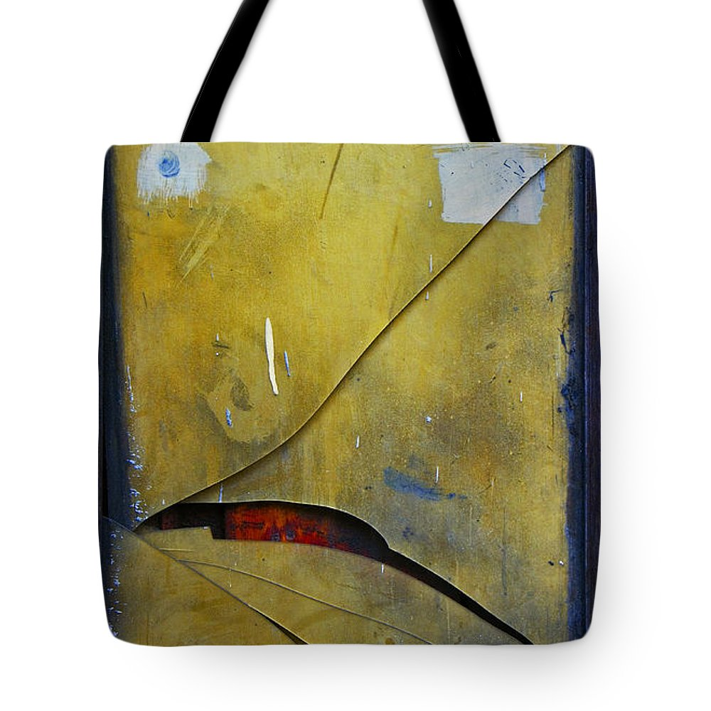 Abstract Tote Bag featuring the photograph Xalapa Miro by Skip Hunt