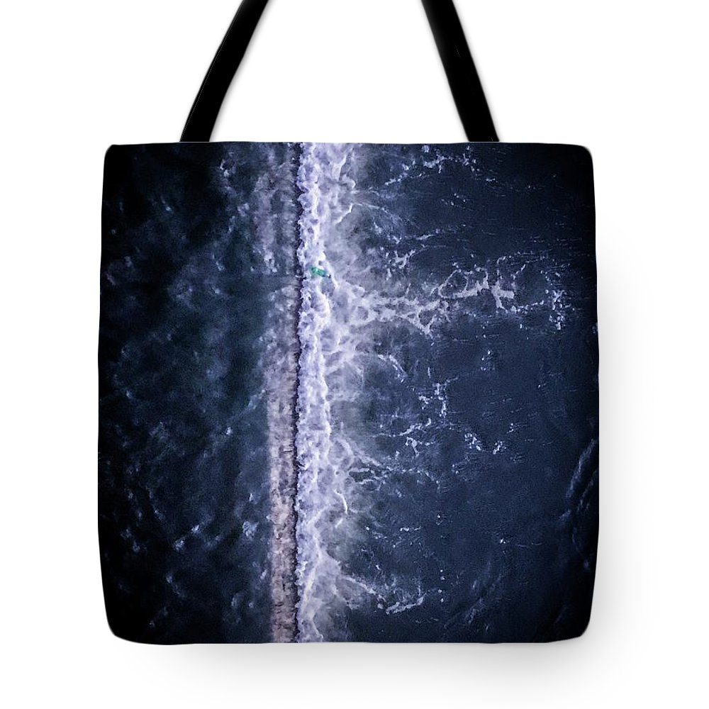 Tote Bag featuring the photograph Xreatie by James Rosales