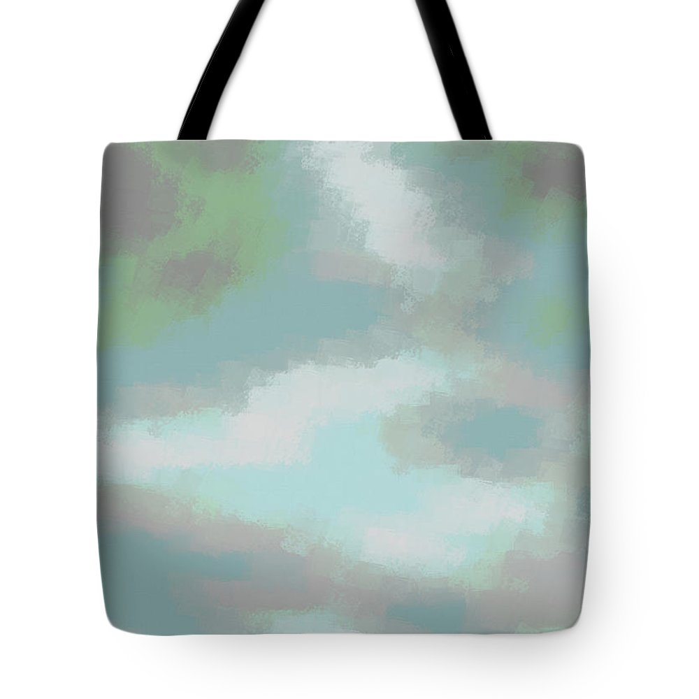Art Tote Bag featuring the digital art Xudats by Jeff Iverson