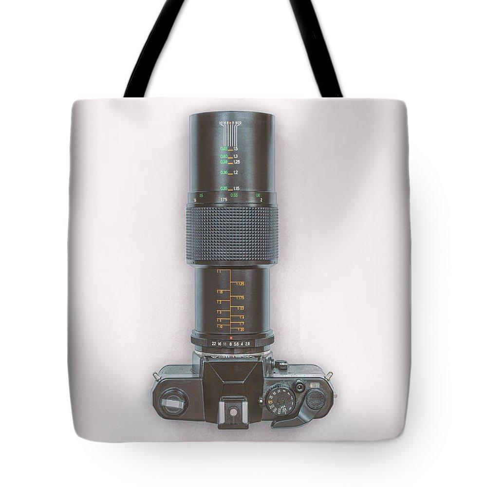 Vintage Camera Tote Bags