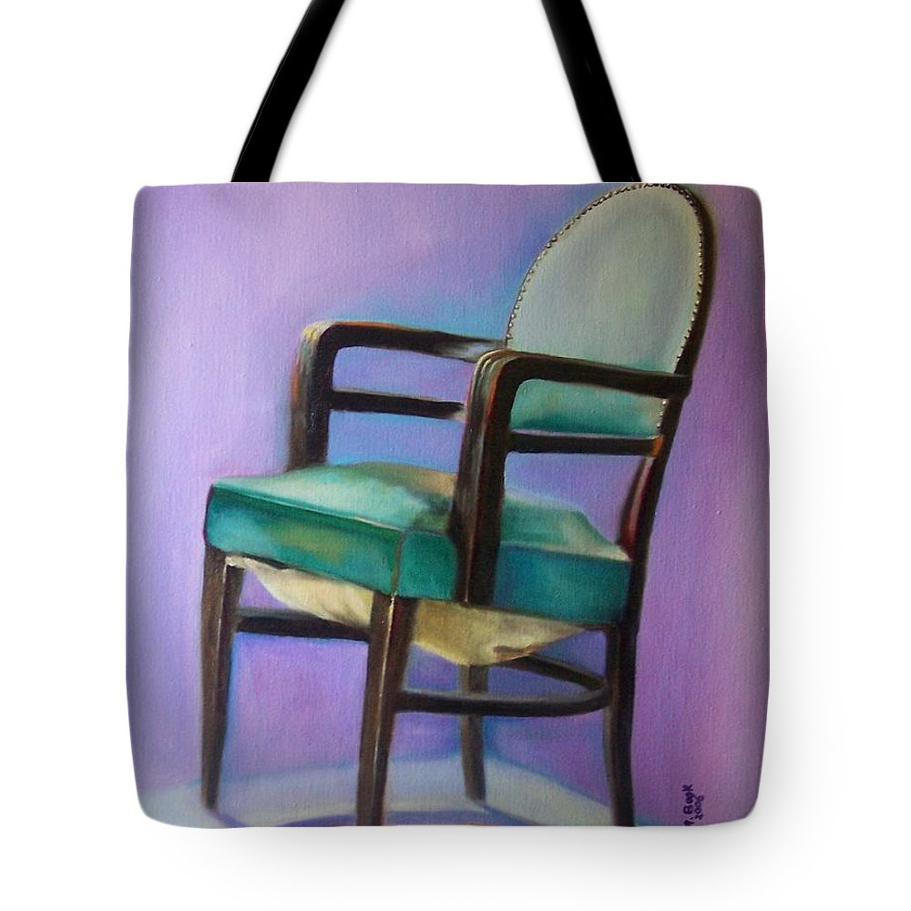 Still Life Tote Bag featuring the painting Ye Who Are Weary by Marlene Book