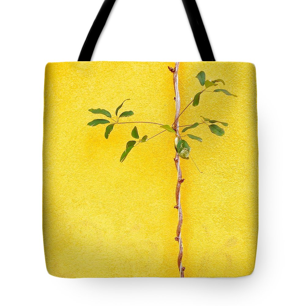 Tote Bag featuring the photograph Yellow #2 by Julie Gebhardt