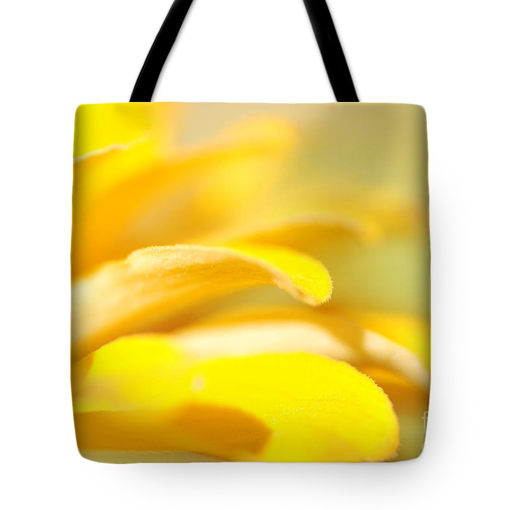 Tote Bag featuring the photograph Yellow by Catherine Lau