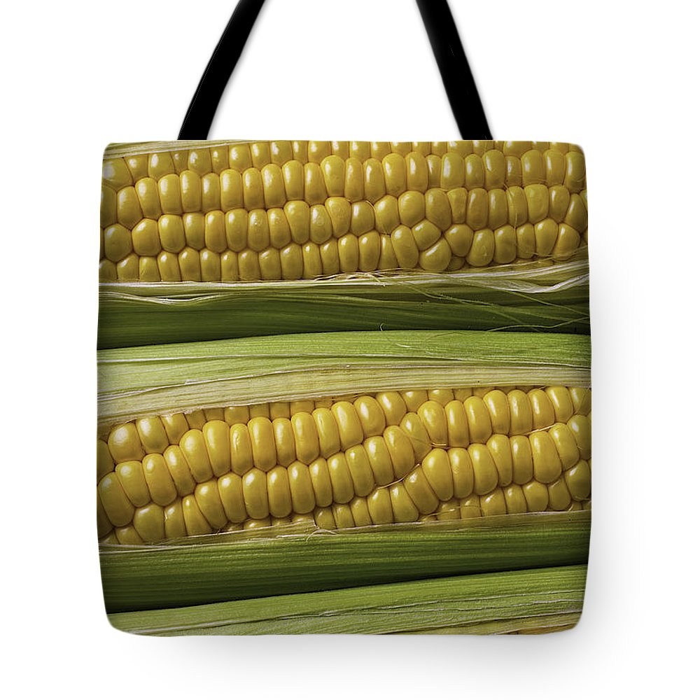 Yellow Corn Tote Bag featuring the photograph Yellow Corn by Garry Gay