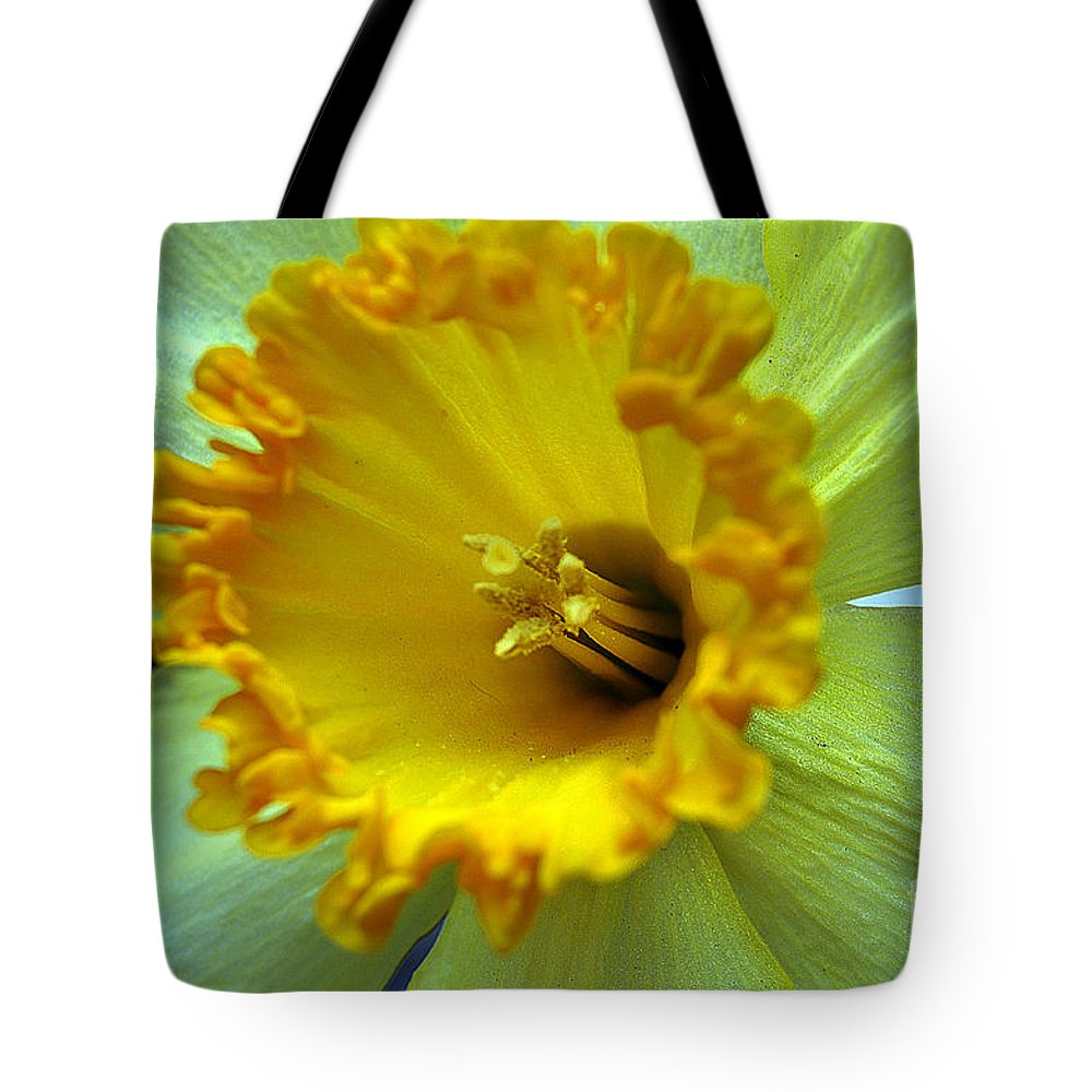 Clay Tote Bag featuring the photograph Yellow Floral by Clayton Bruster