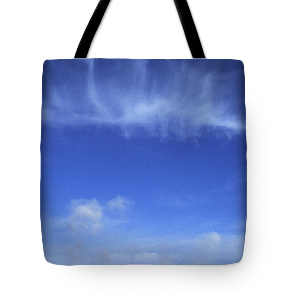 Scenic Tote Bag featuring the photograph Yellowstone Basin by Doug Davidson