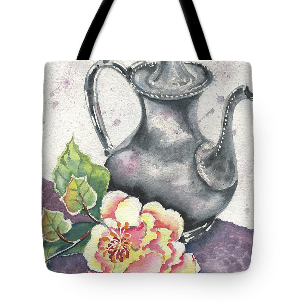 Vintage Tote Bag featuring the painting Yesterdays Gone by Marsha Elliott