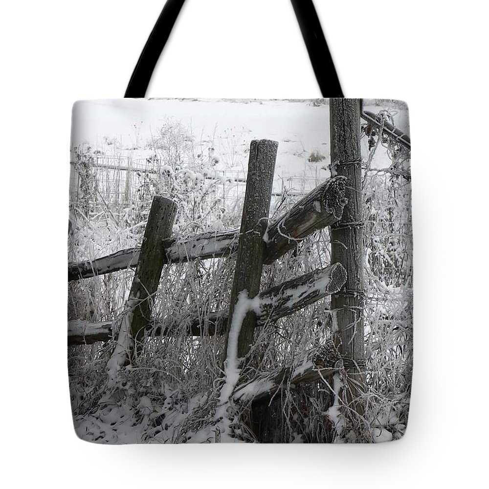 Farm Tote Bag featuring the photograph Yesterday's Protector by Melissa Haney