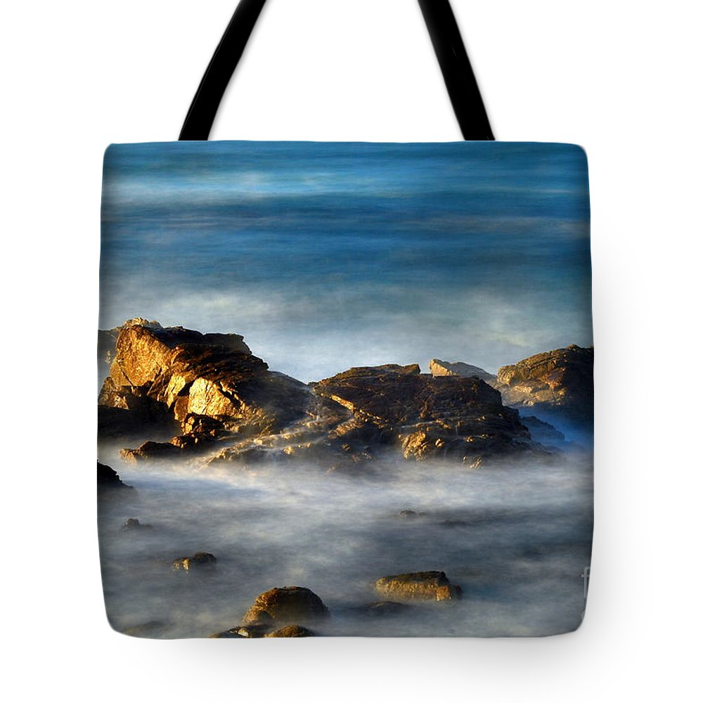 Rocks Tote Bag featuring the photograph Yin And Yan by Catherine Lau