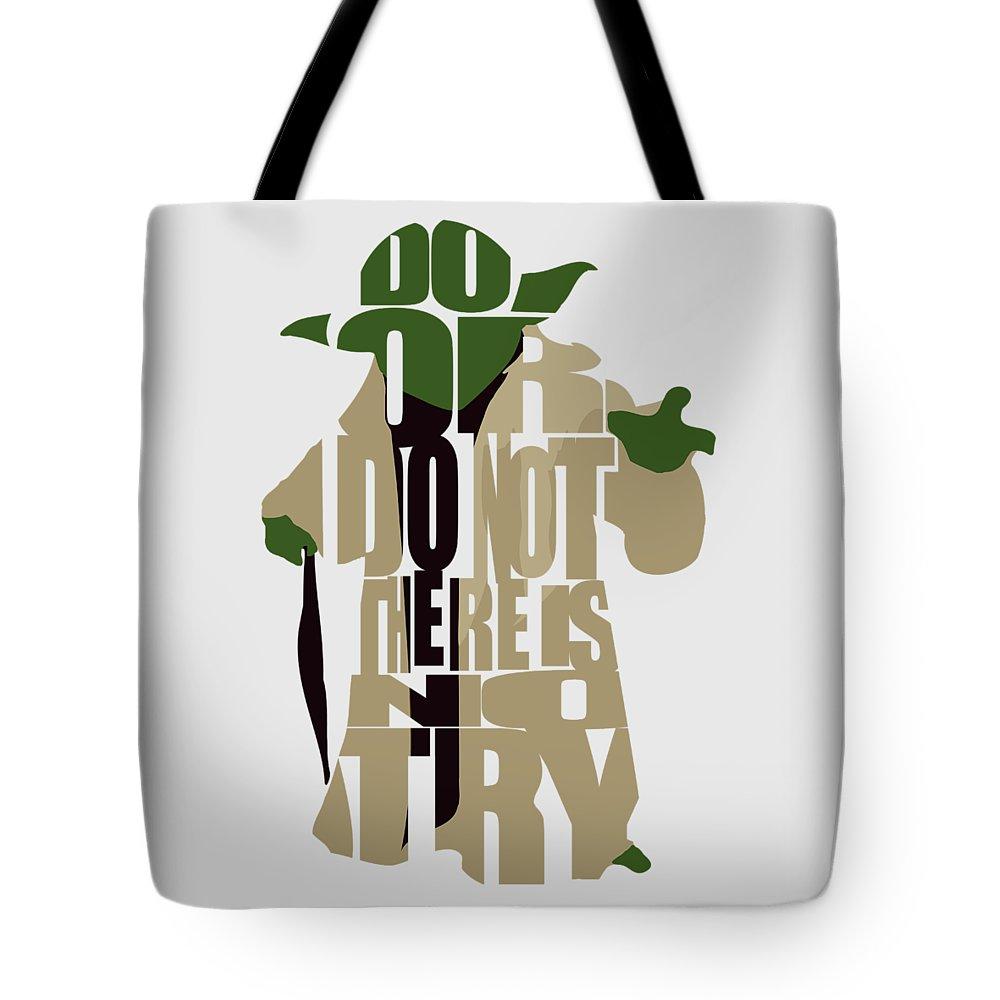 Star Wars Digital Art Tote Bags