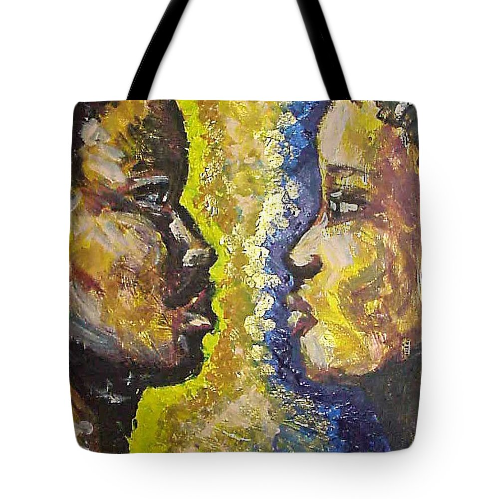 Tote Bag featuring the painting You And I by Jan Gilmore