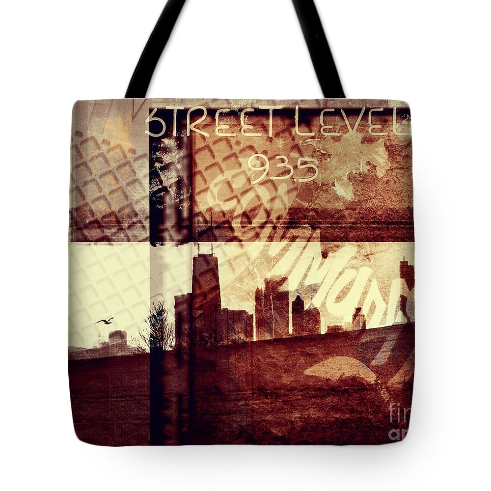 Chicago Tote Bag featuring the photograph You Held My Hand Softly Through The Humid Summer Streets by Dana DiPasquale
