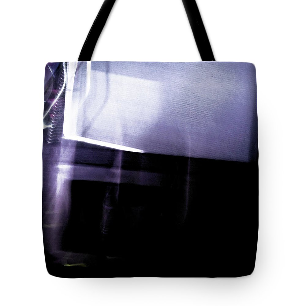 Abstract Tote Bag featuring the photograph You Thought You Caught Me by Nicholas Haddox