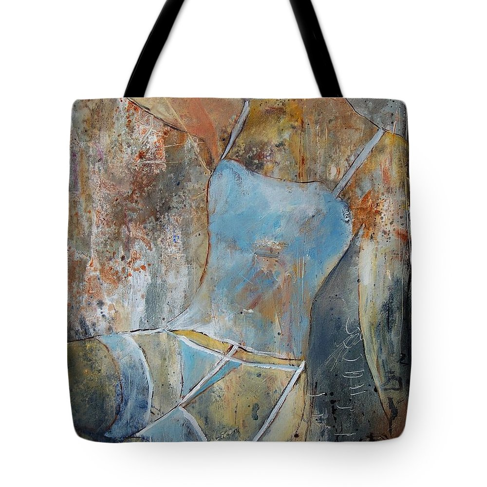 Nude Tote Bag featuring the painting Young Girl 451108 by Pol Ledent