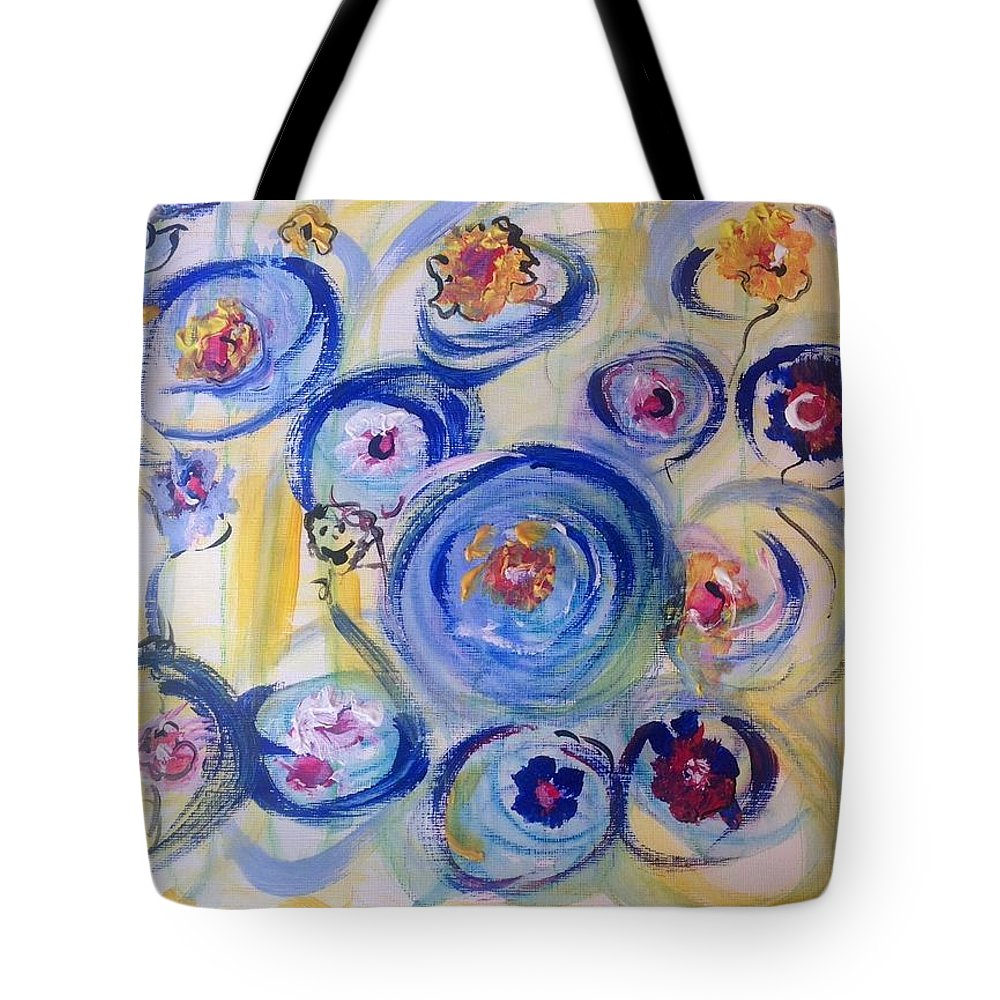 Sunshine Tote Bag featuring the painting Your Sunshine by Judith Desrosiers