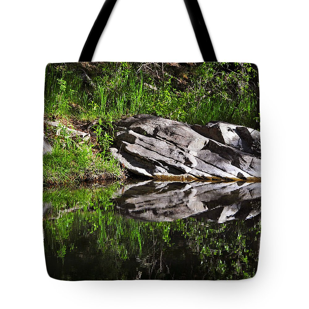 Skip Hunt Tote Bag featuring the photograph Zen Pool by Skip Hunt
