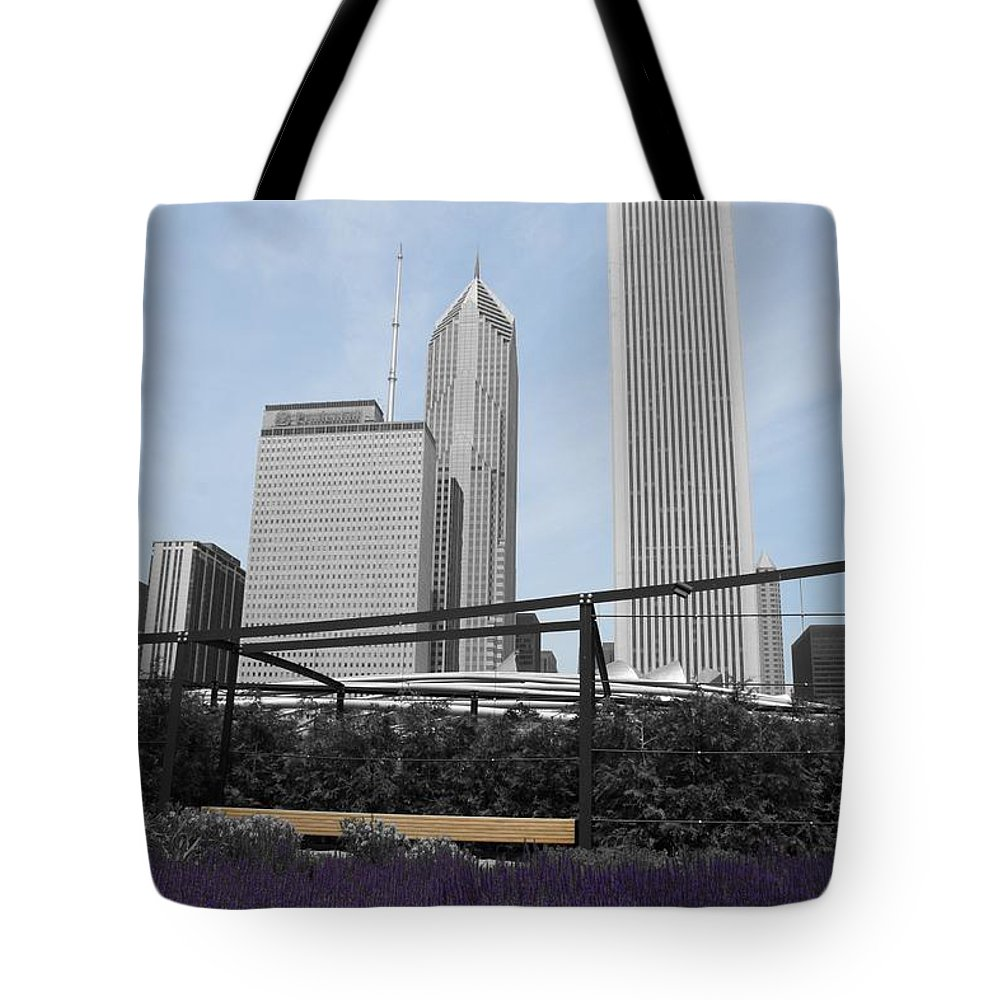 Cityscape Tote Bag featuring the photograph Zen Within by Dylan Punke