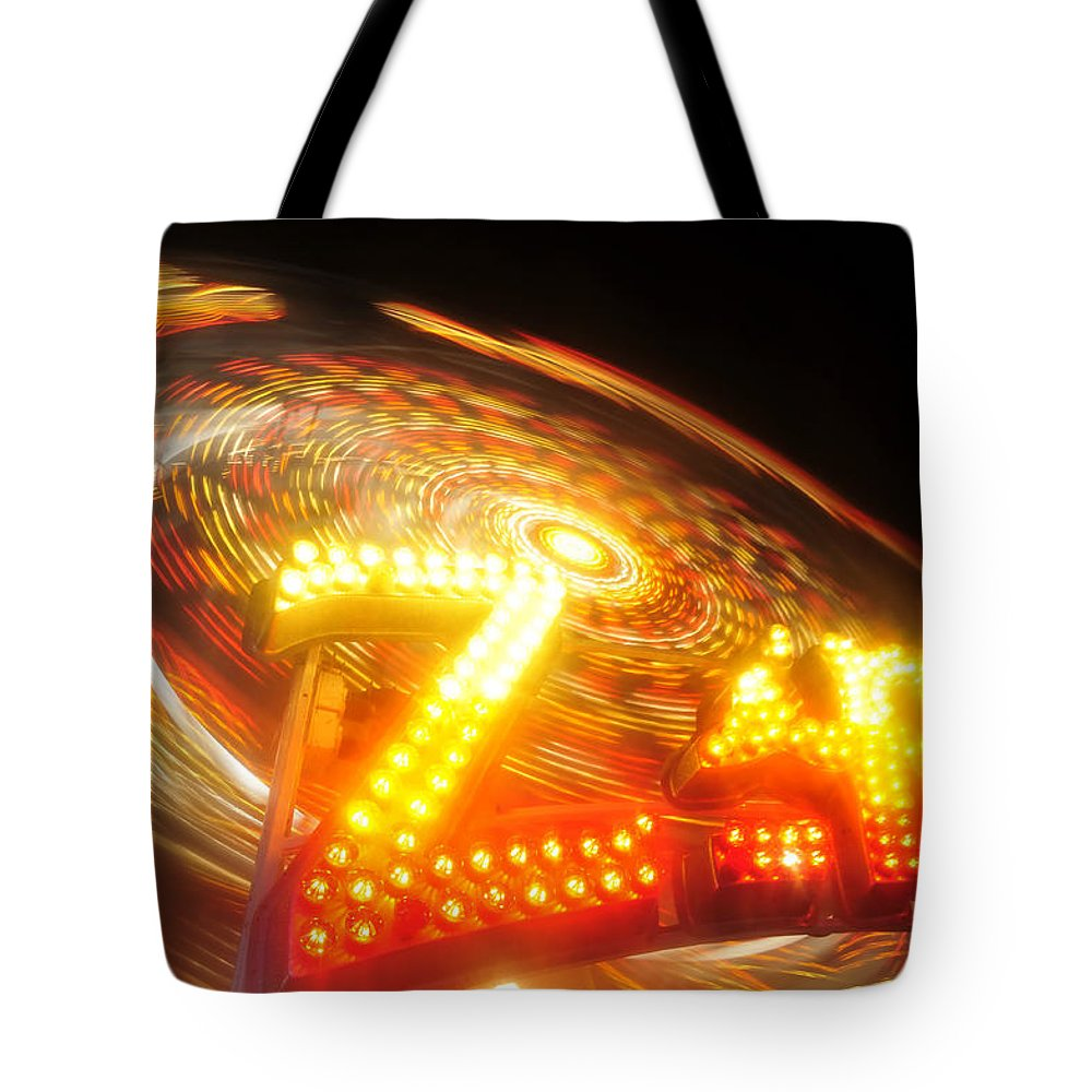 Florida State Fair Tote Bag featuring the photograph Zipper by David Lee Thompson