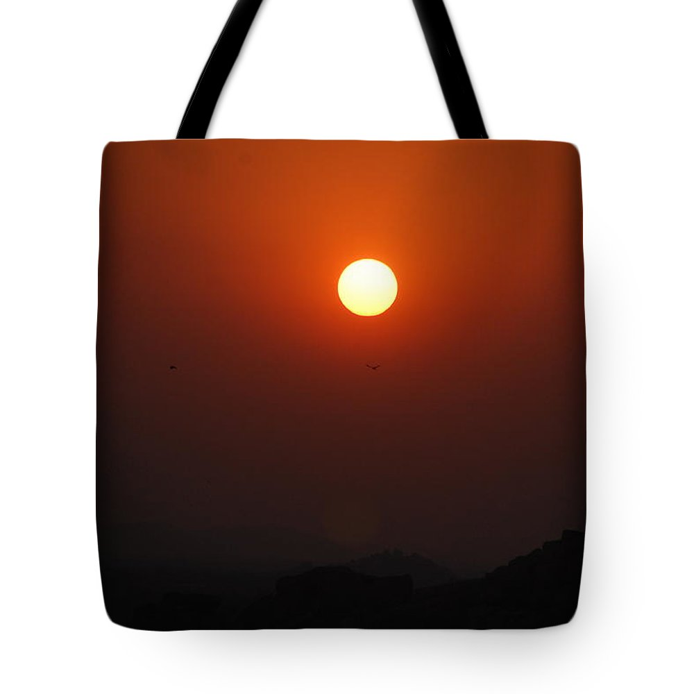 Tote Bag featuring the photograph zon by Sharine Rijsenburg