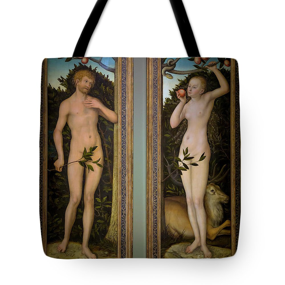 1533 Tote Bag featuring the photograph Adam And Eve by Peter Barritt