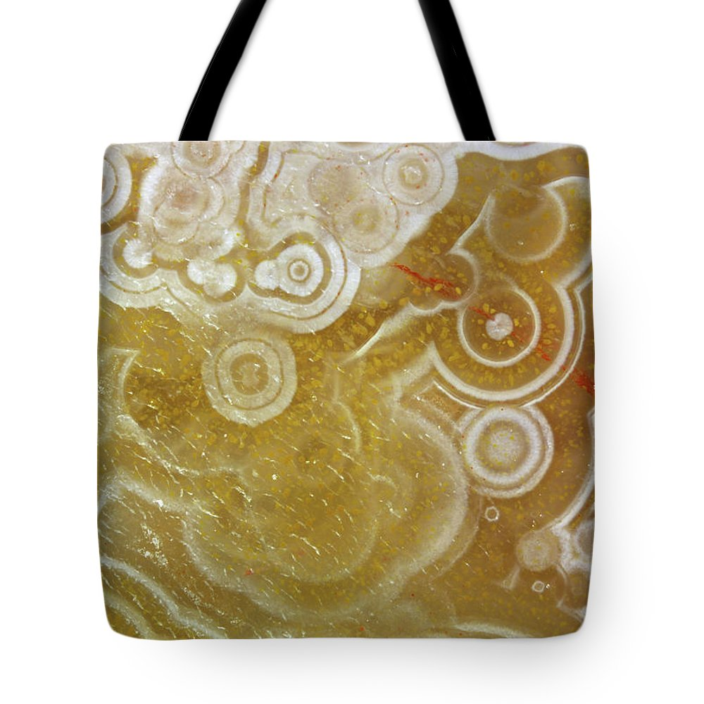 Mineral Tote Bag featuring the photograph Agate by Matteo Chinellato - Chinellatophoto