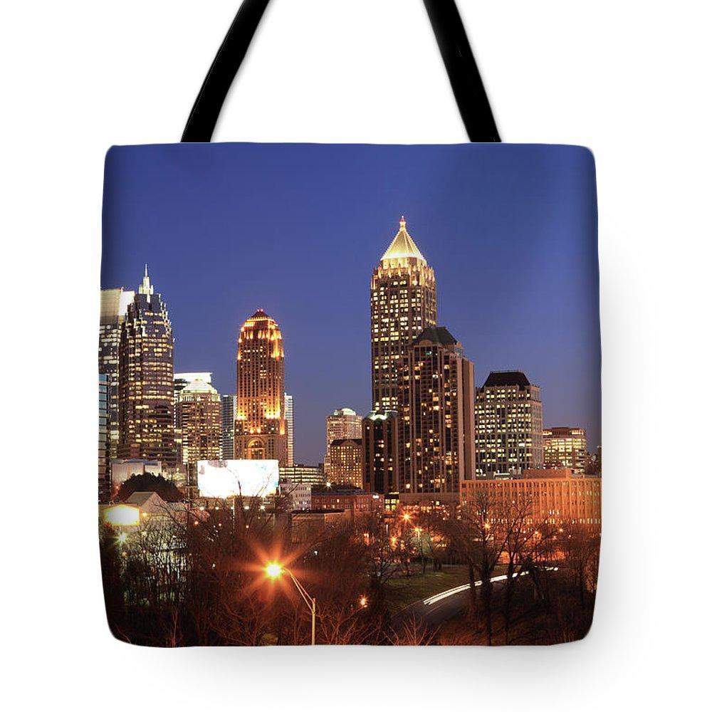Atlanta Tote Bag featuring the photograph Atlanta, Georgia by Jumper