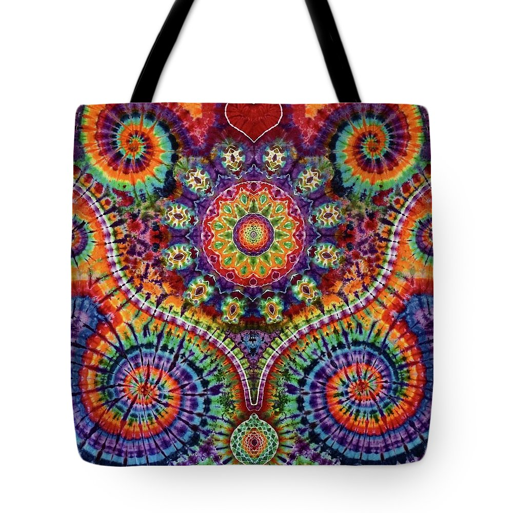 Rob Norwood Ice Dyed Tapestries Tote Bag featuring the digital art Billy's Tap by Rob Norwood