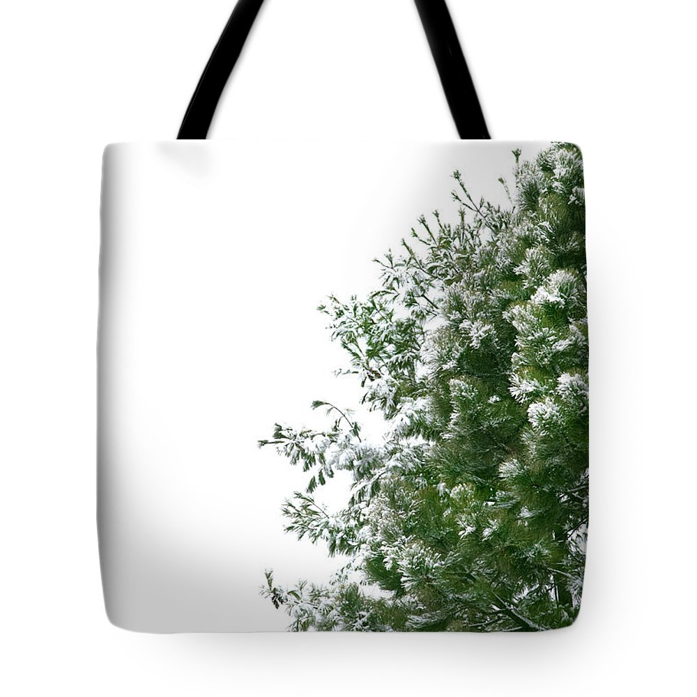 Christmas Tote Bag featuring the photograph Christmas Background by Michelle Himes