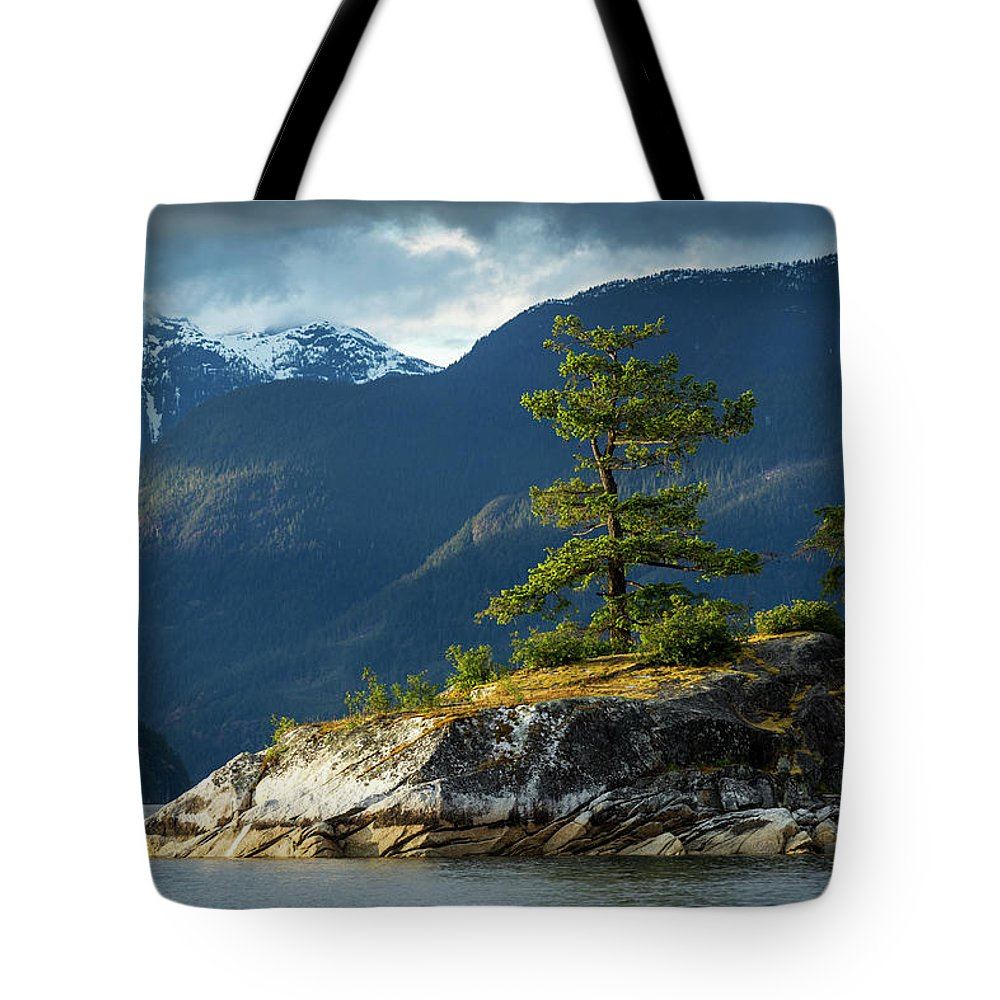 Scenics Tote Bag featuring the photograph Desolation Sound, Bc, Canada by Paul Souders