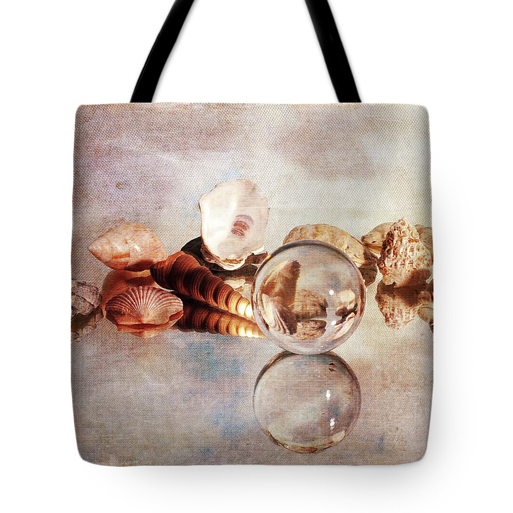 Memories Tote Bag featuring the photograph Gems From The Beach by Randi Grace Nilsberg