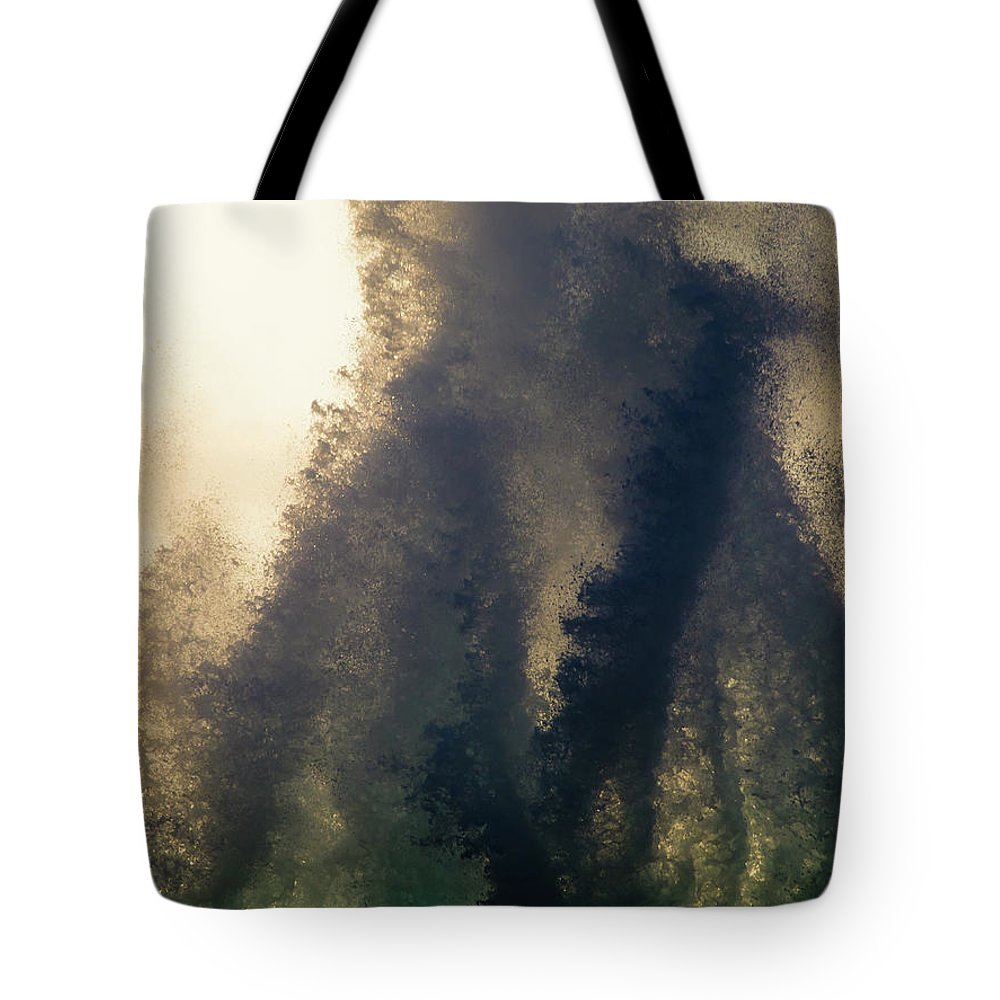 Kona Tote Bag featuring the photograph High Surf Explosion by Christopher Johnson