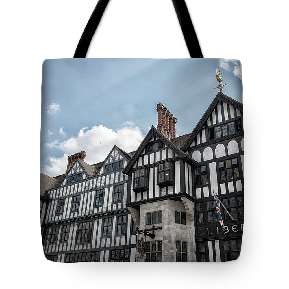 City Tote Bag featuring the photograph Liberty by Martin Newman