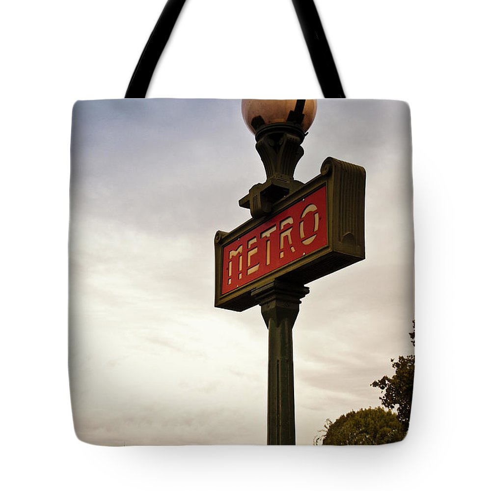 Outdoors Tote Bag featuring the photograph Paris, France by Buena Vista Images