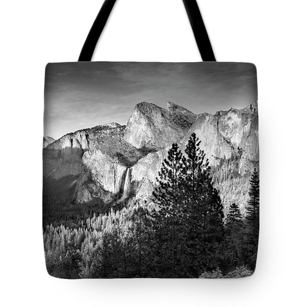 Scenics Tote Bag featuring the photograph Rocky Mountains Overlooking Rural by Chris Clor