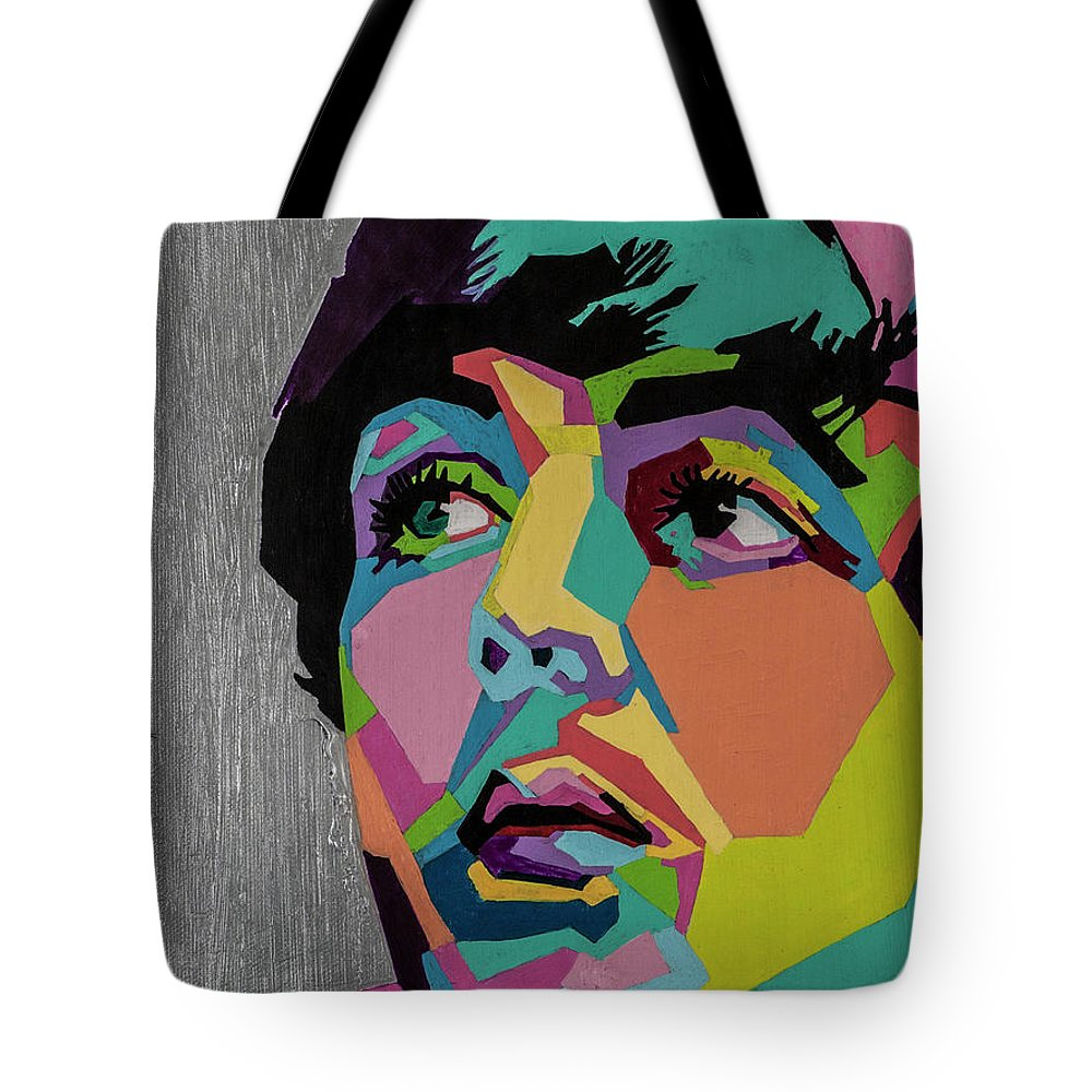 Paul Mccartney Tote Bag featuring the painting Sir Paul McCartney by Stacie Marie