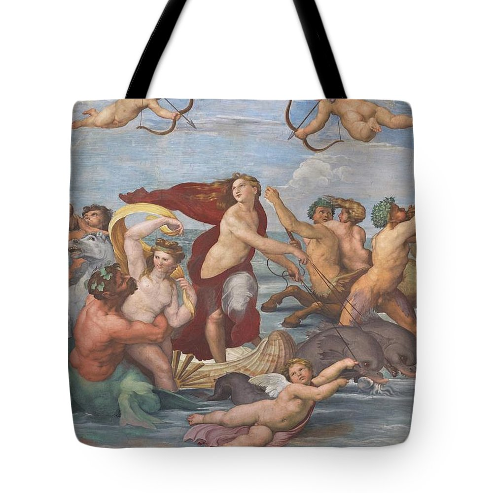 1512 Tote Bag featuring the photograph Triumph Of Galatea by Peter Barritt