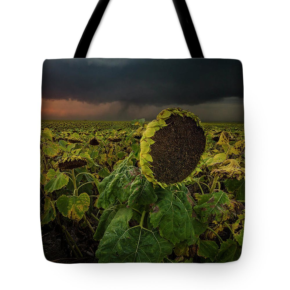 Tornado Tote Bag featuring the photograph Twisted by Aaron J Groen