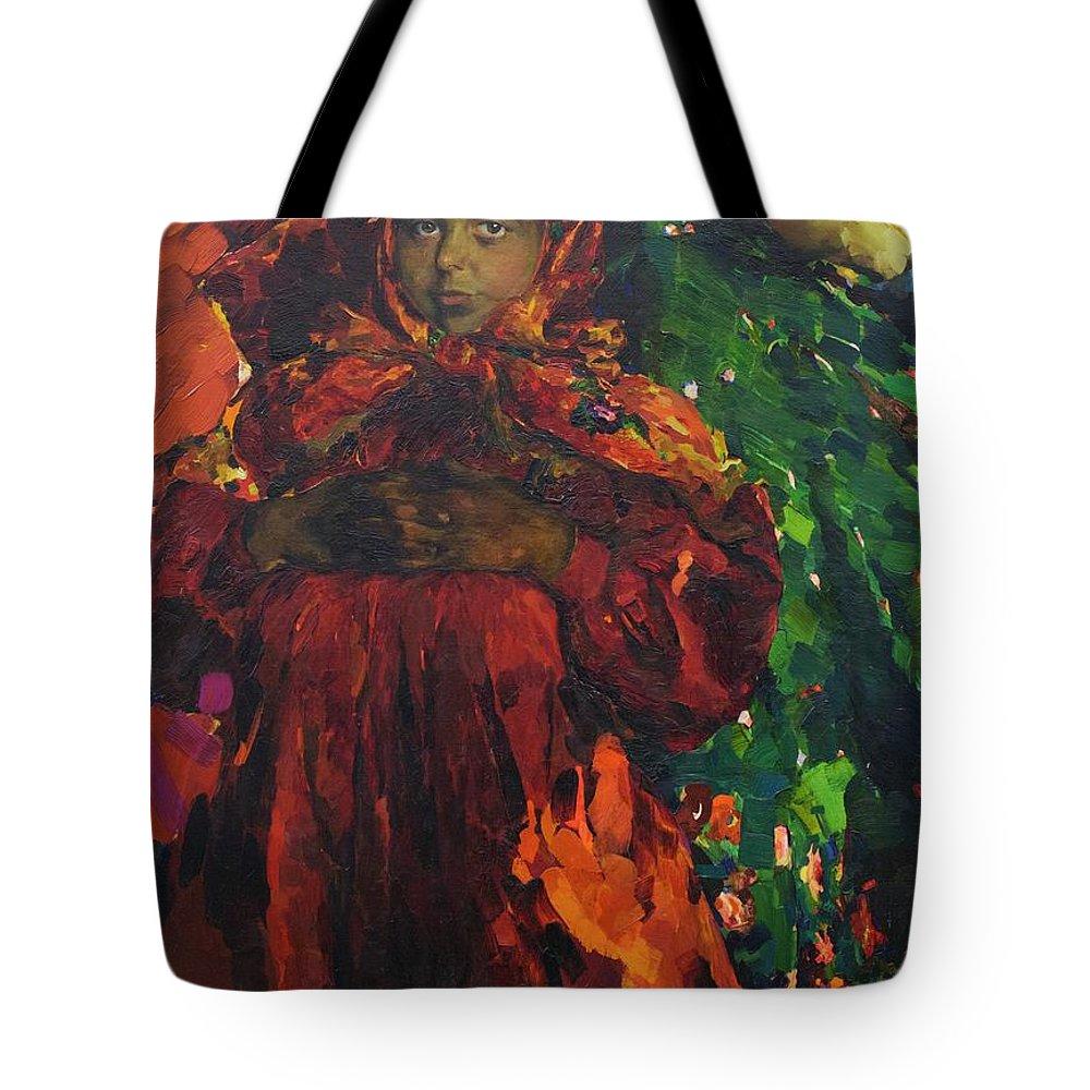 Art Tote Bag featuring the photograph Verka by Peter Barritt
