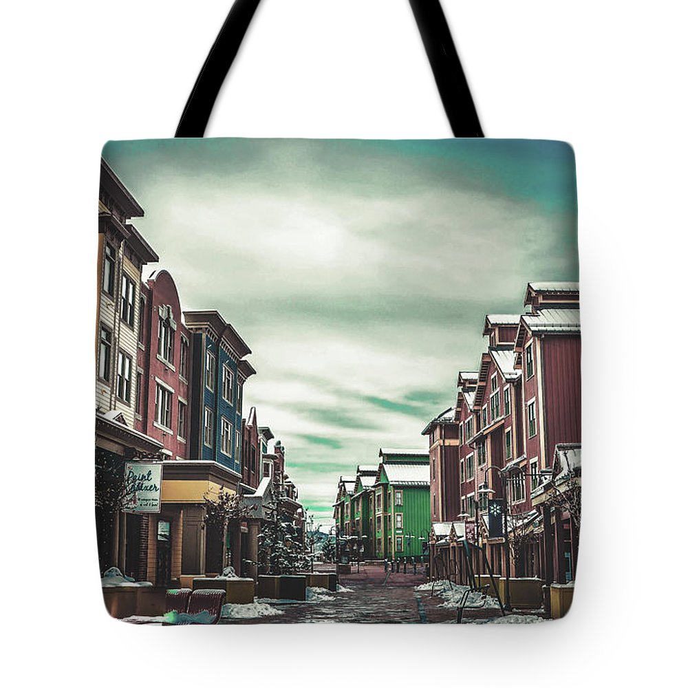Park City Tote Bag featuring the photograph Winter Morning - Park City, Utah by Pixabay