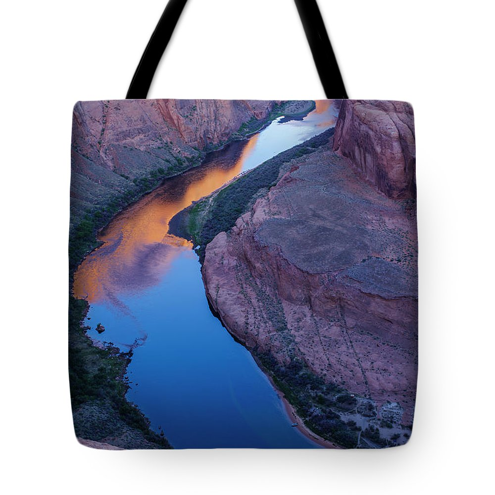 Tranquility Tote Bag featuring the photograph Sand Stone Rock Formation In Sw Usa by Gavriel Jecan