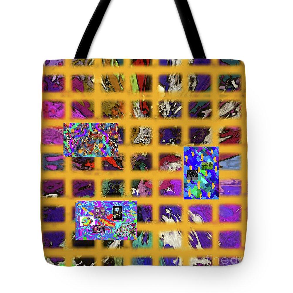 Walter Paul Bebirian Tote Bag featuring the digital art 12-24-2017c by Walter Paul Bebirian