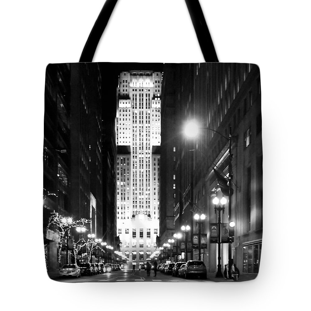 Tote Bag featuring the photograph Cbot by Sue Conwell