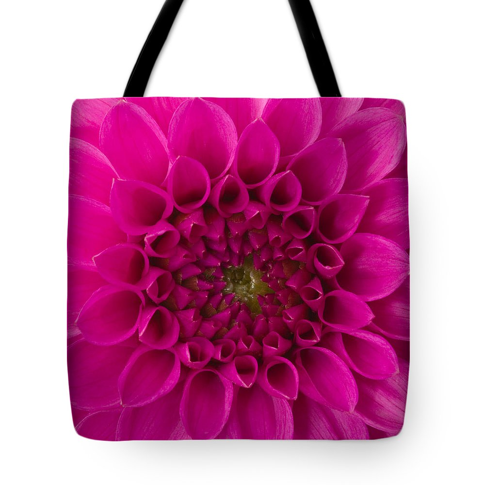 Saturated Color Tote Bag featuring the photograph Dahlia by Vidok